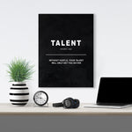 Talent - Definition - GENERATION SUCCESS