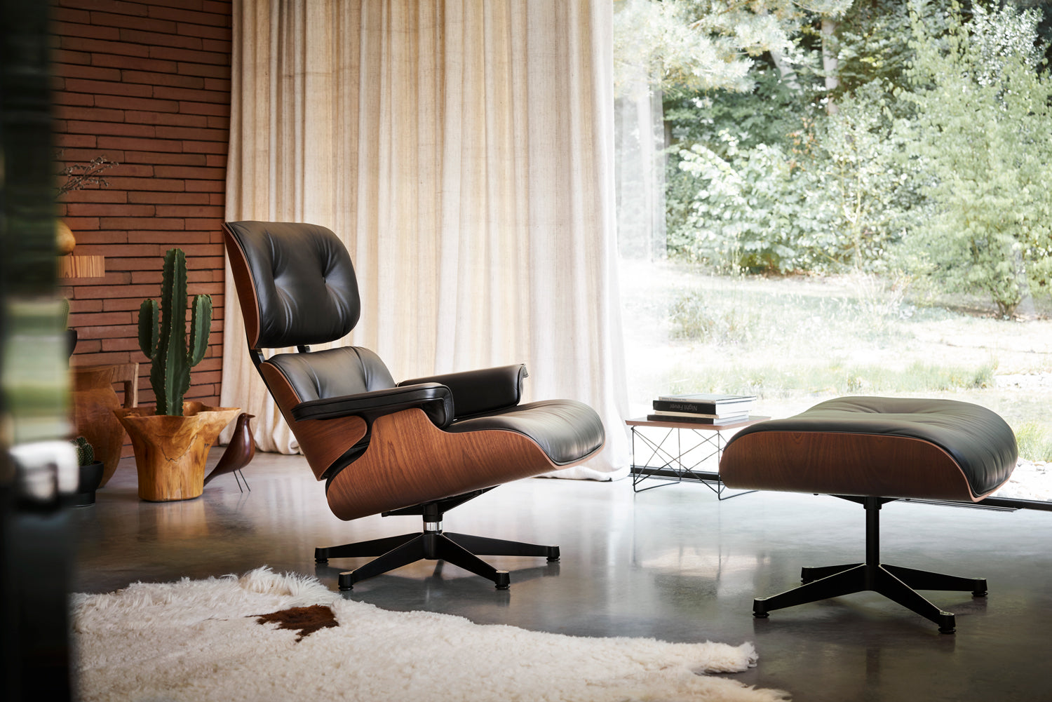Awesome New Limited Edition Eames Lounge Chair In Mahogany Couch Short Links Chair Design For Home Short Linksinfo