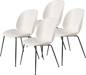 Beetle Dining Chair, Conic Base - Set of 4