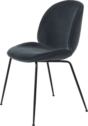 Beetle Dining Chair, Conic Base - Fully Upholstered