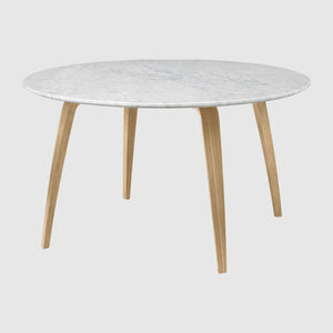GUBI Dining Table Round Marble