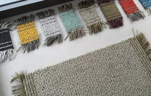 Carpet Sign Chalet Rug, light grey and brown