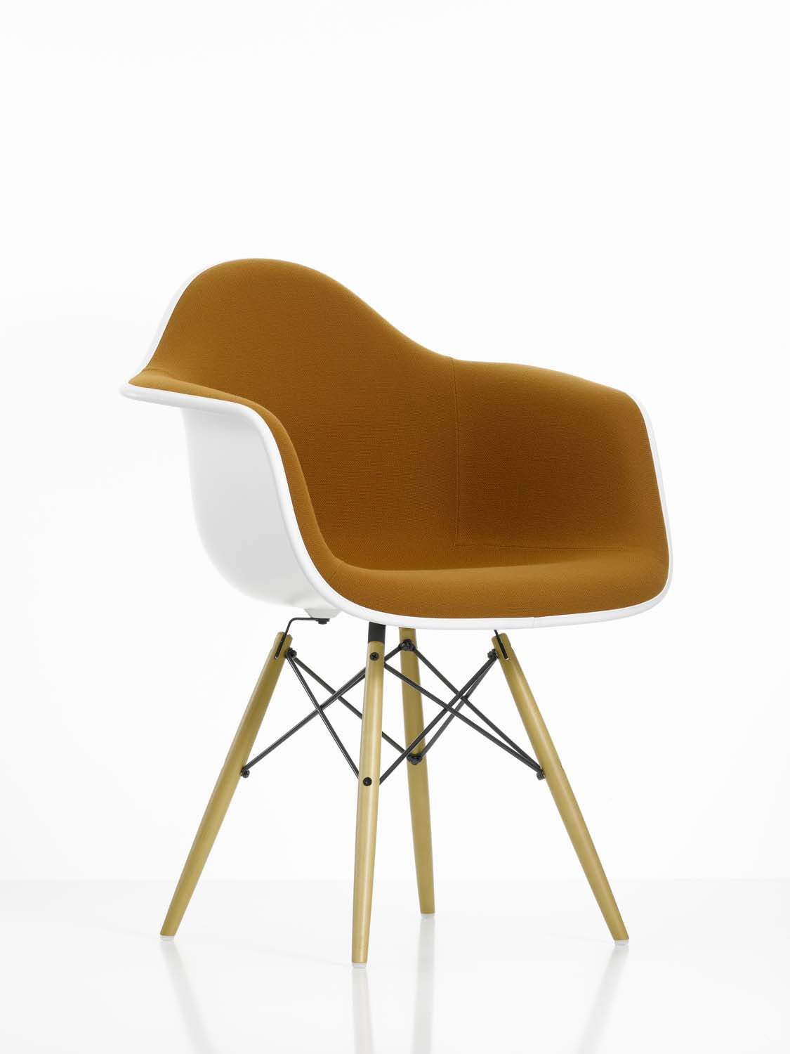 eames daw chair fully upholstered