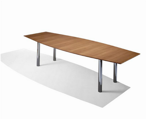 Florence Knoll Boat-Shaped Table Desk