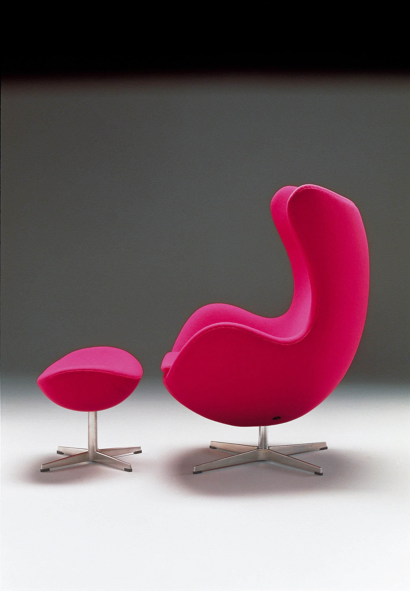 Egg Chair And Foot Stool