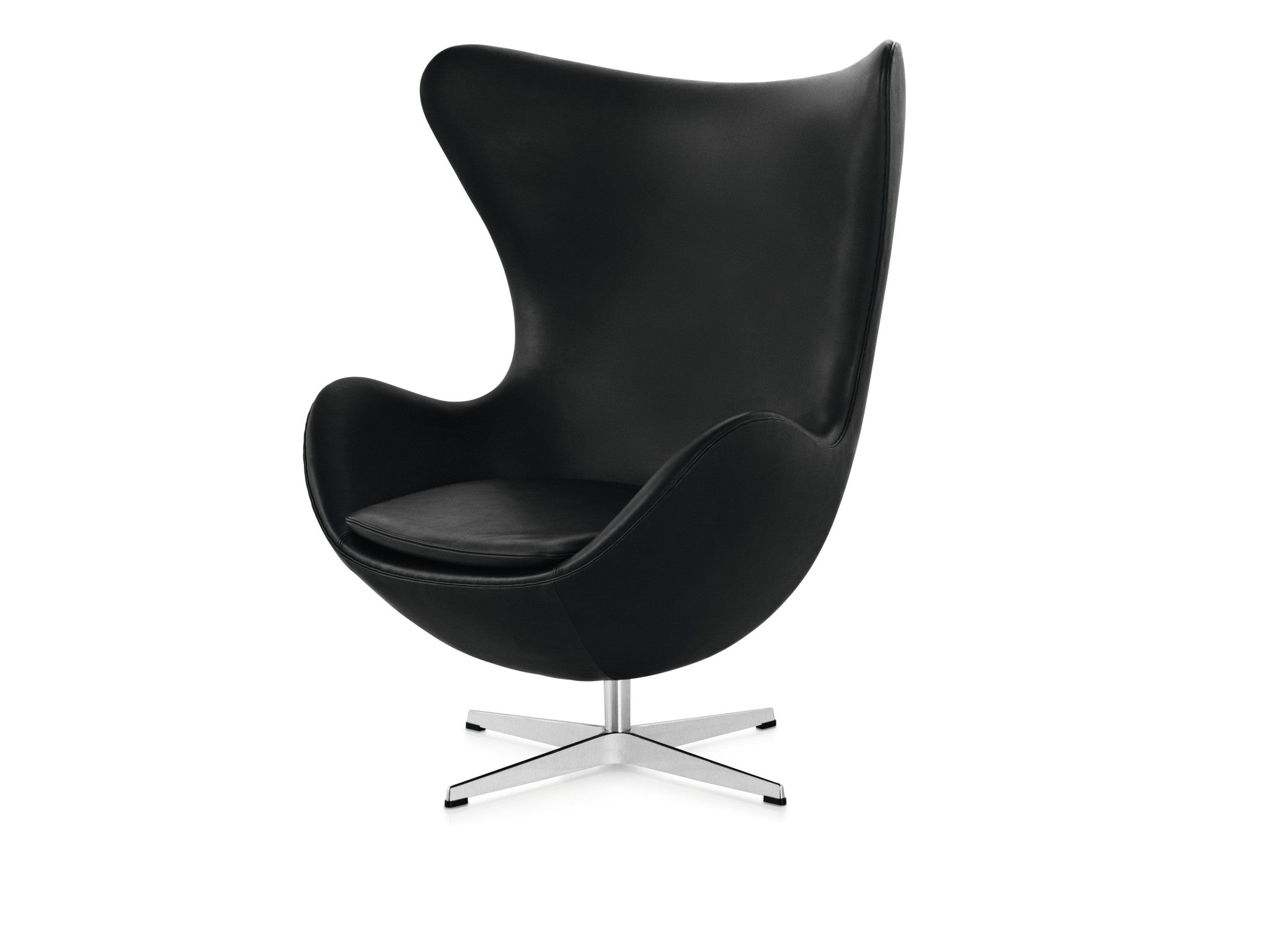 Arne jacobsen egg chair white - Arne Jacobsen Egg Chair Black Leather