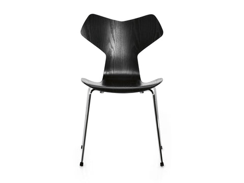 Grand Prix chair, black coloured ash
