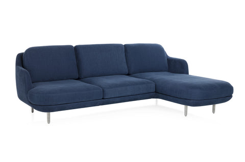 Lune 3 Seater Sofa with Chaise Longue