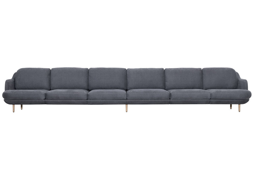 Lune 6 seater sofa couch potato company for 6 seater sectional sofa