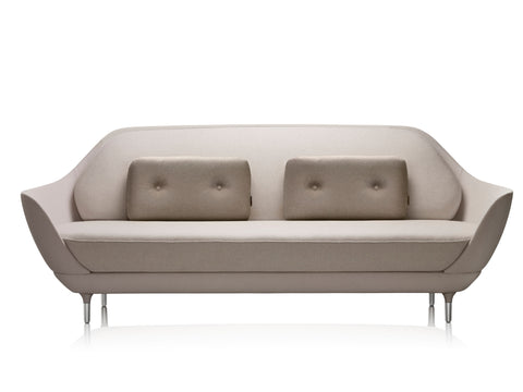 Fritz Hansen Favn sofa, grey fabric
