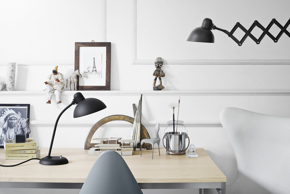 Kaiser Idell Wall Lamp Stretchable Swivel Fritz Hansen
