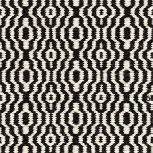 Kasthall Hagga Bloom Rug, black and white details