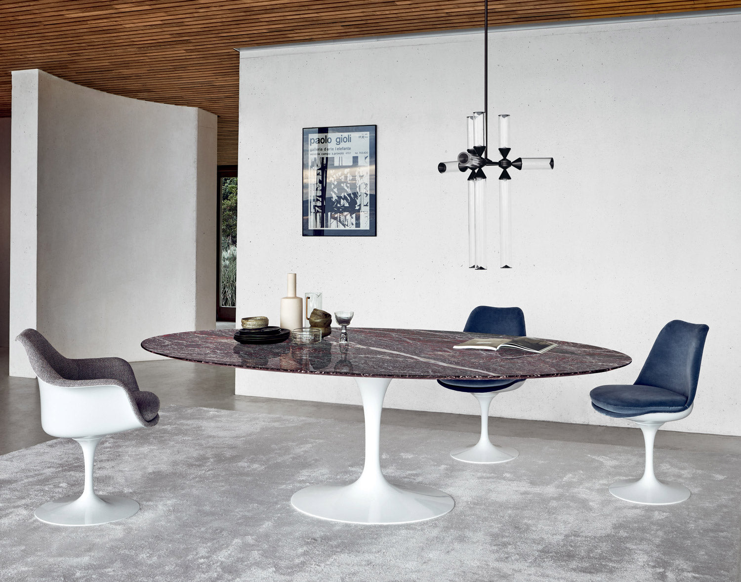 Saarinen Tulip Dining Table Oval Couch Potato Company