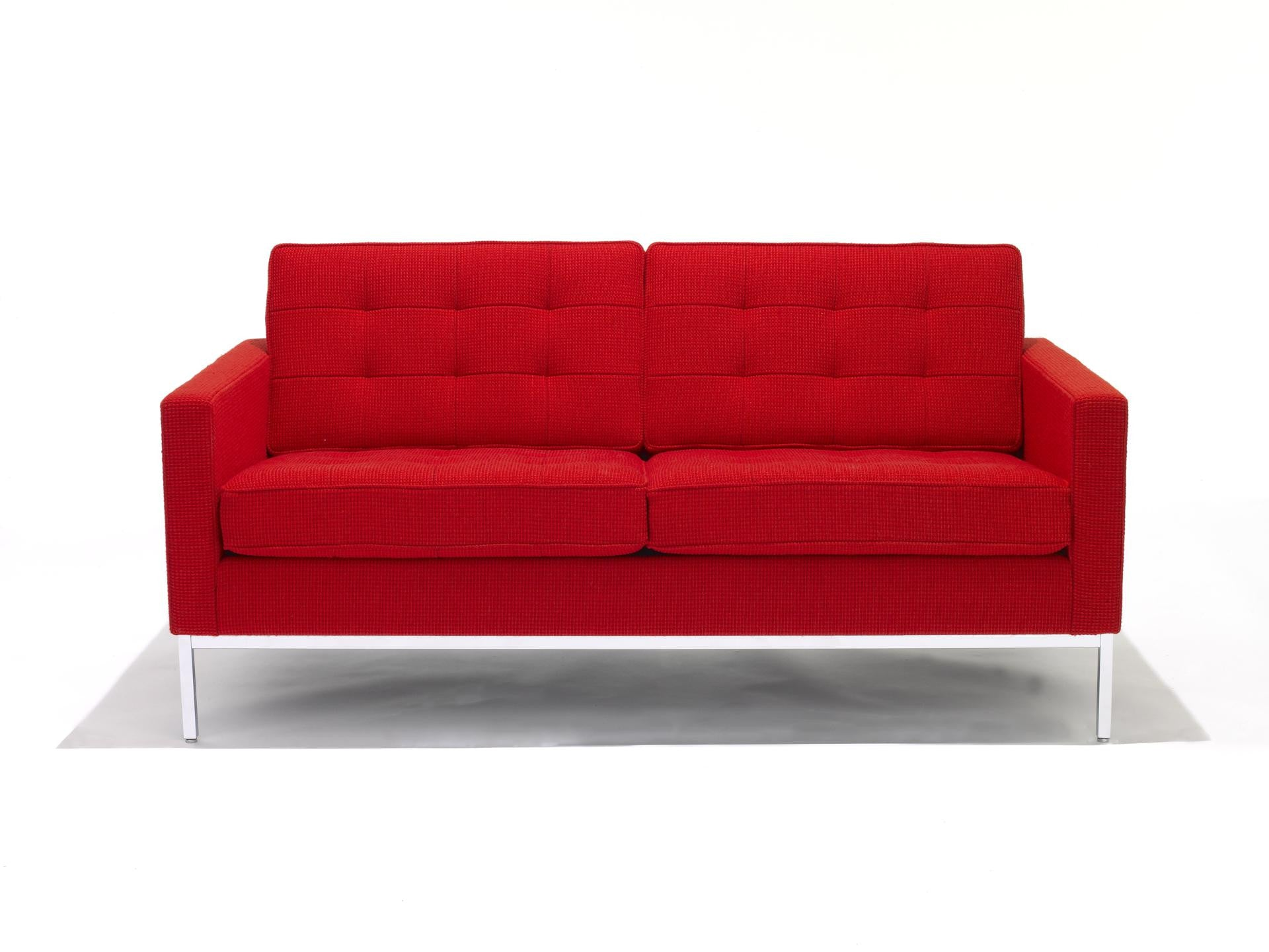 Pleasant Florence Knoll Sofa 2 Seat Download Free Architecture Designs Scobabritishbridgeorg