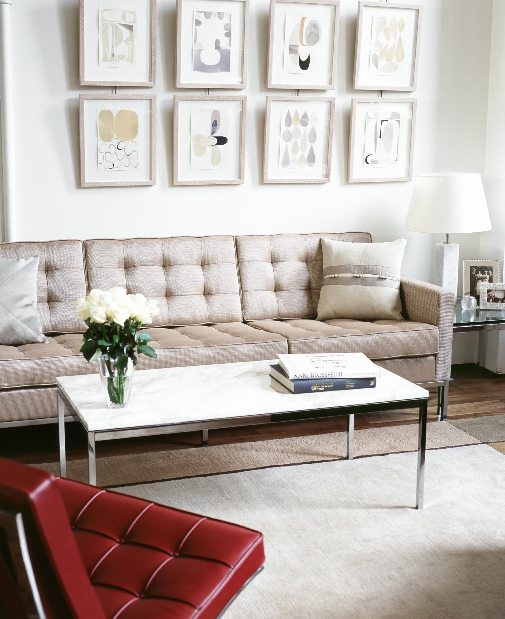 florence knoll sofa 3 seat couch potato company. Black Bedroom Furniture Sets. Home Design Ideas