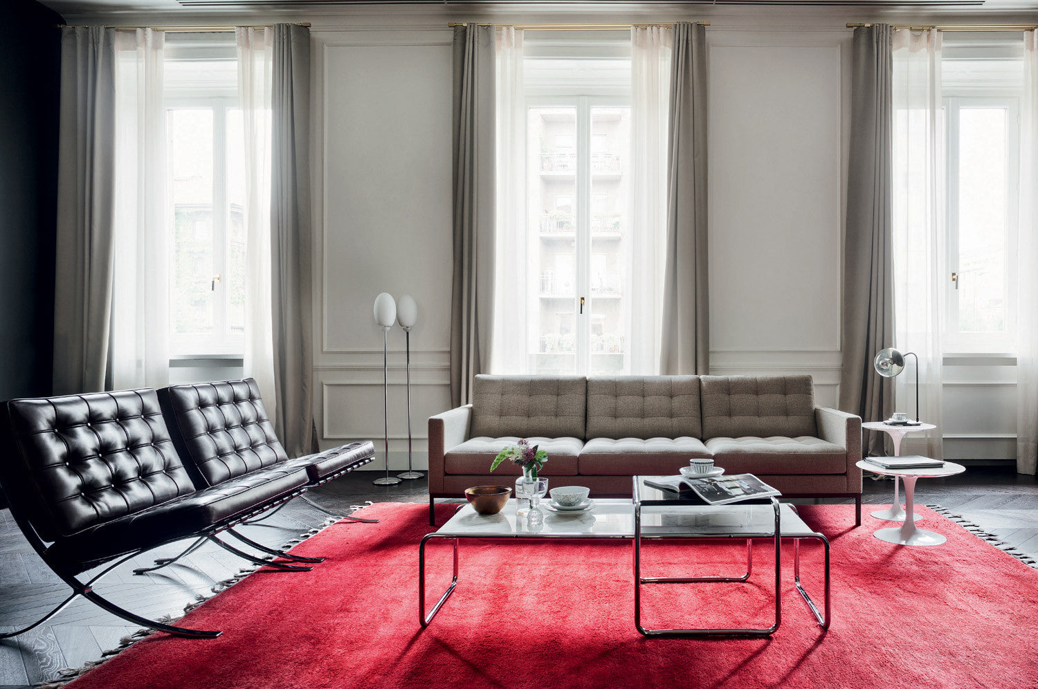 Florence Knoll Relax 3 seat sofa