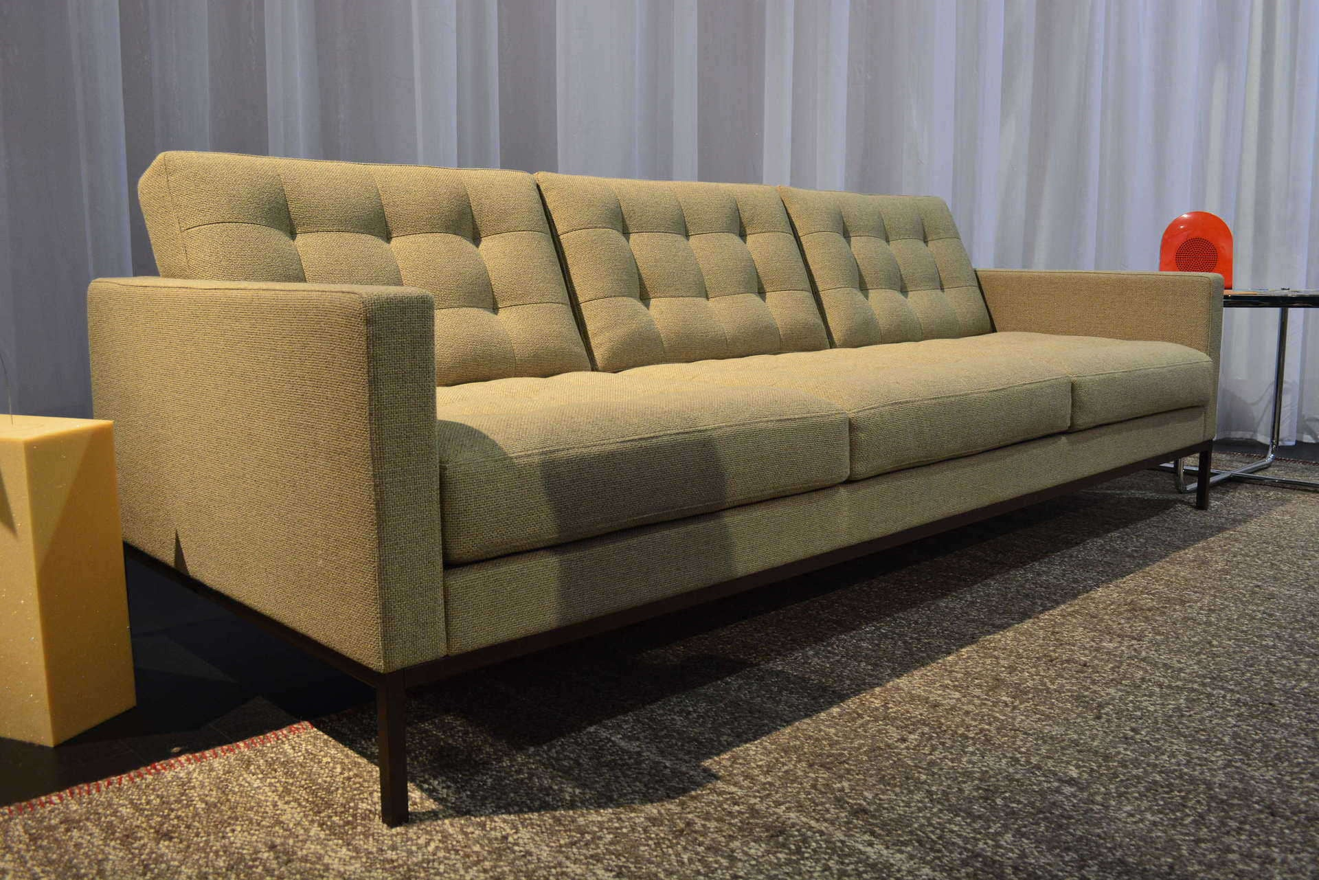 Florence knoll relax 3 seat sofa couch potato company - Florence knoll sofa gebraucht ...