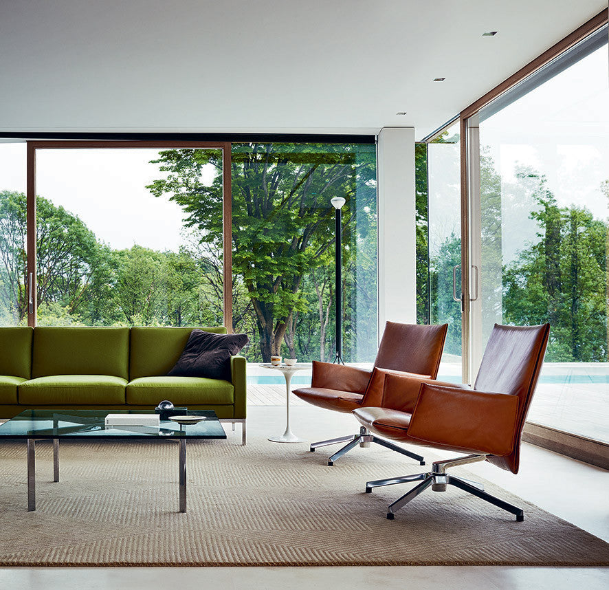 Florence Knoll Relax 3 Seat Sofa Untufted Couch Potato