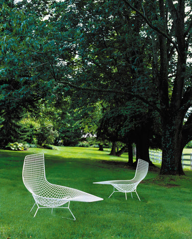 Bertoia Asymmetric Chaise Outdoor use
