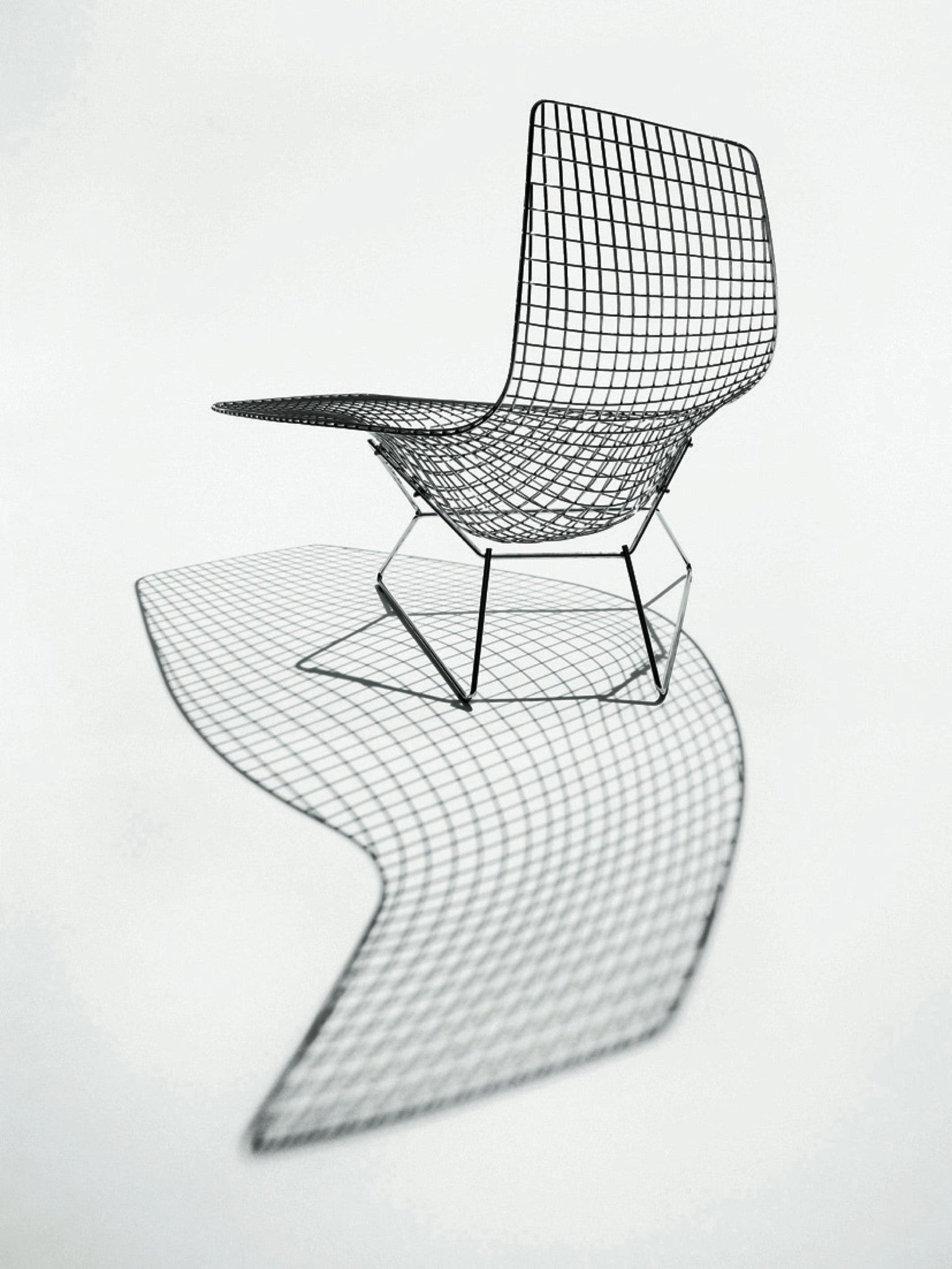 Bertoia Asymmetric Chaise Without Upholstery