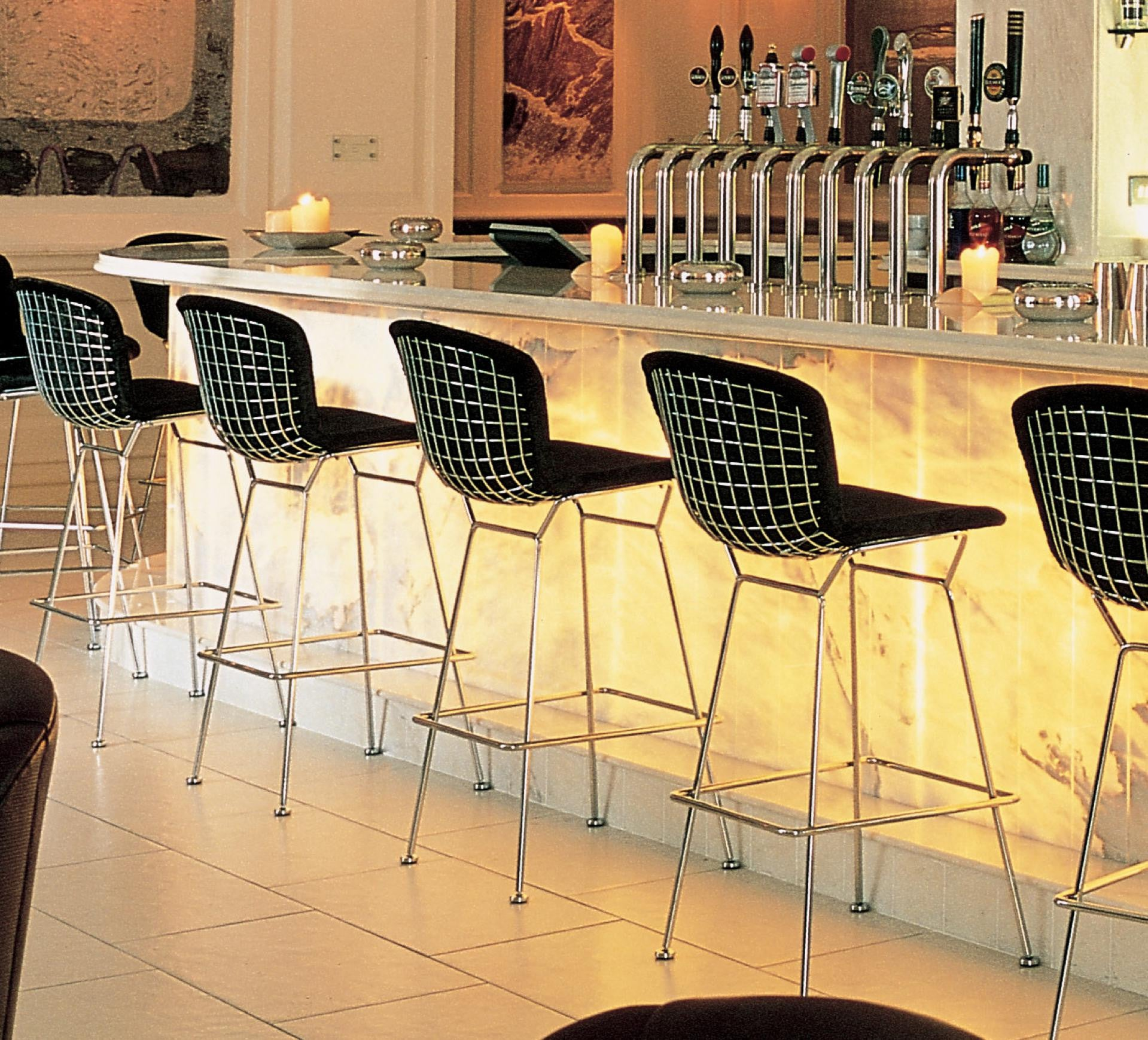 wholesale dealer 0d6bb 5d4d8 Bertoia Bar Stool