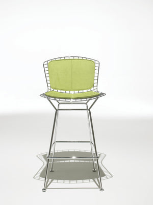 Bertoia Bar Stool green seat