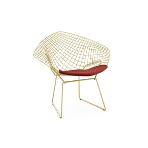 Bertoia Diamond Armchair Gold Plated