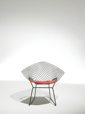 Bertoia Diamond Armchair orange