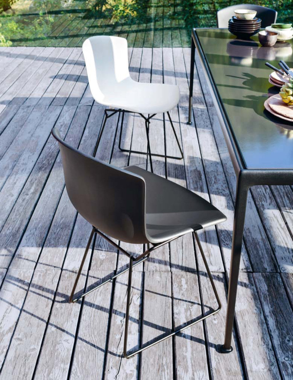 Bertoia Plastic Side Chair Outdoor Couch Potato Company