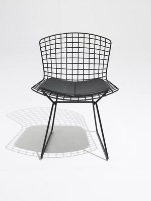 Bertoia Side Chair Outdoor in black