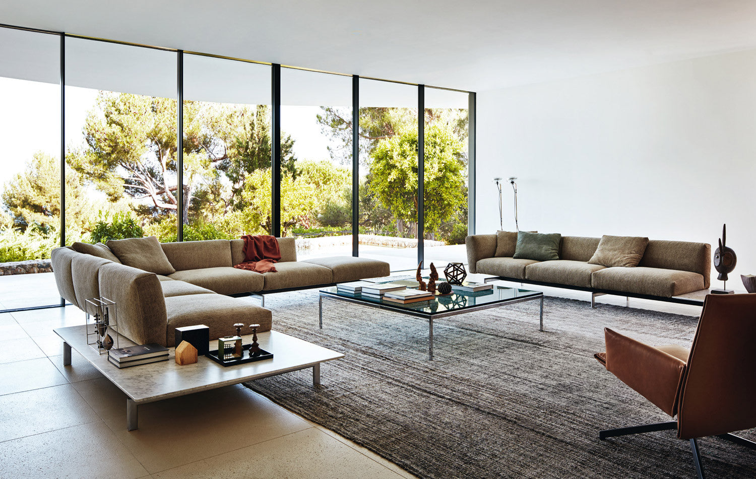 Florence Knoll Low Table Square Couch Potato Company