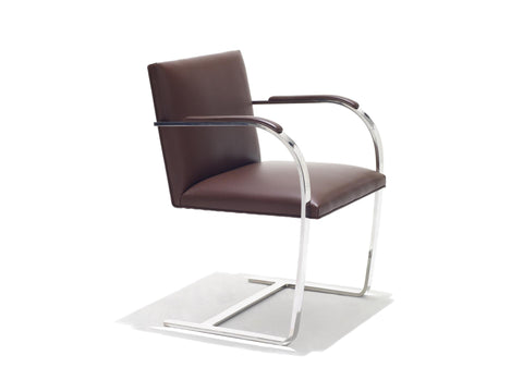 Brno Chair - Flat Bar with Armpads