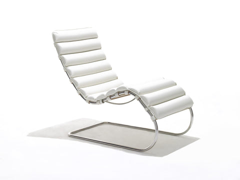 Barcelona chair relax couch potato company for Barcelona chaise longue