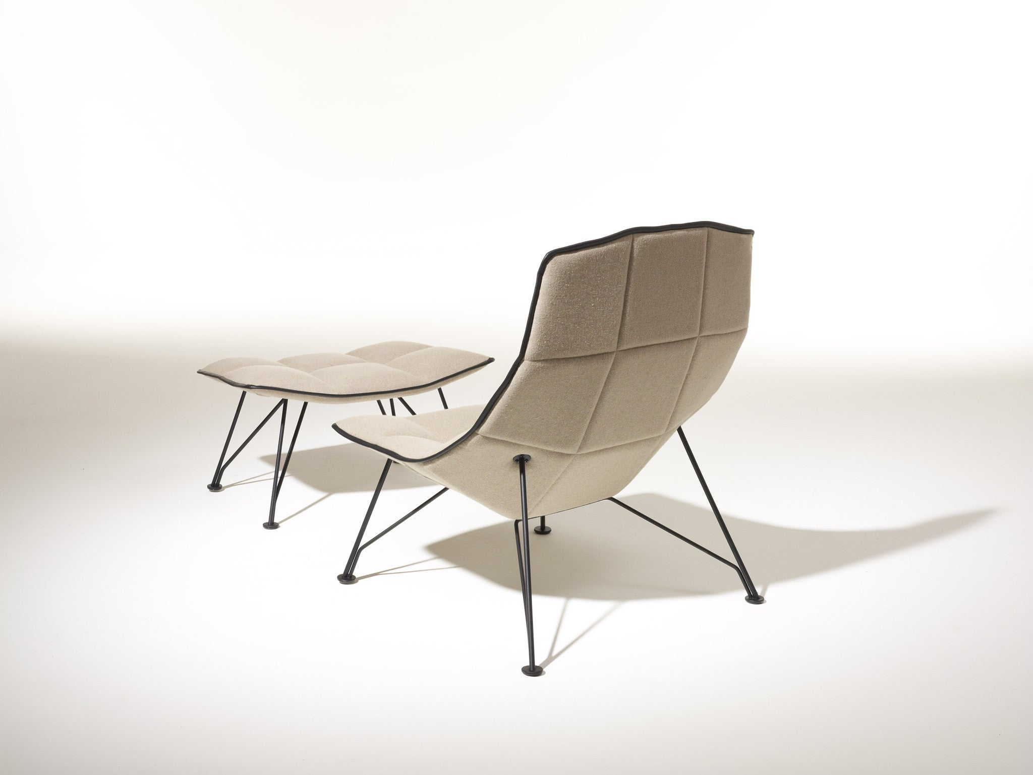 The Jehs+Laub Lounge Chair Wire Base
