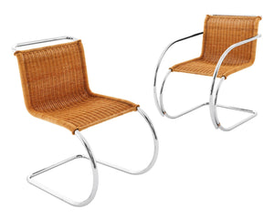 MR Side Chair, rattan