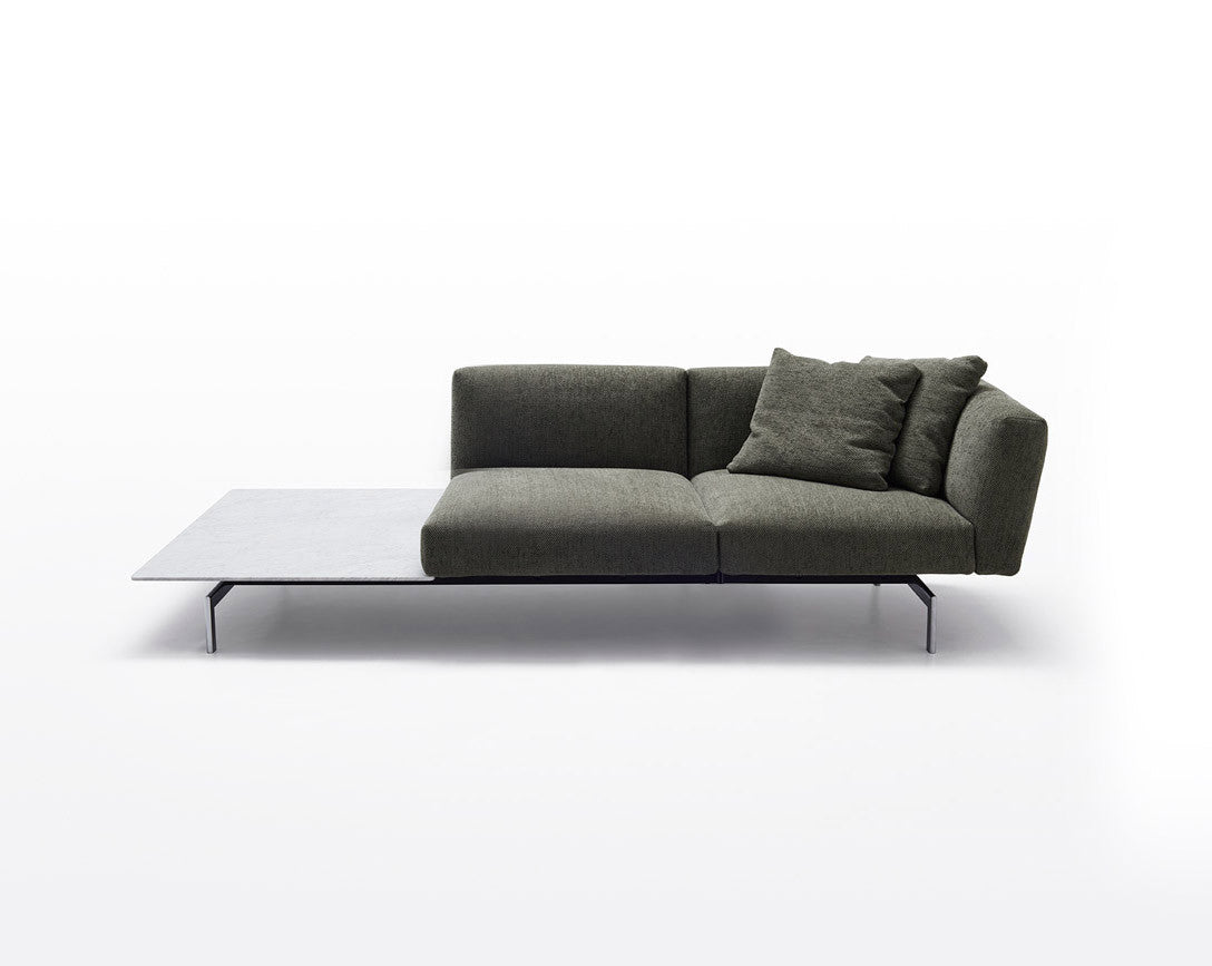 Avio Sofa, 2-seater with table - Couch Potato Company