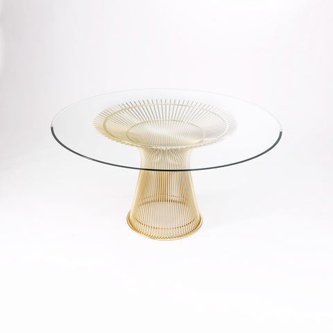 Platner Dining Table Gold Plated