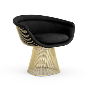 Platner Lounge Chair Gold Plated Finish