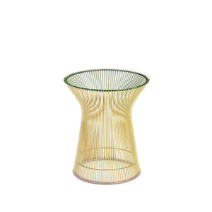 Platner Side Table Gold Plated