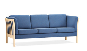 Sanne Sofa blue fabric