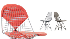 Eames DKR-2 Wire Chair