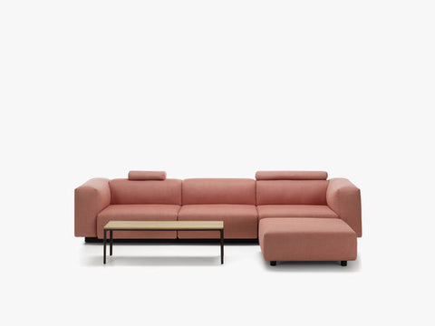 Soft Modular 3-Seater and Ottoman