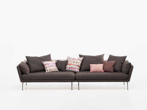 Suita Sofa Pointed Cushions - Three Seater Open