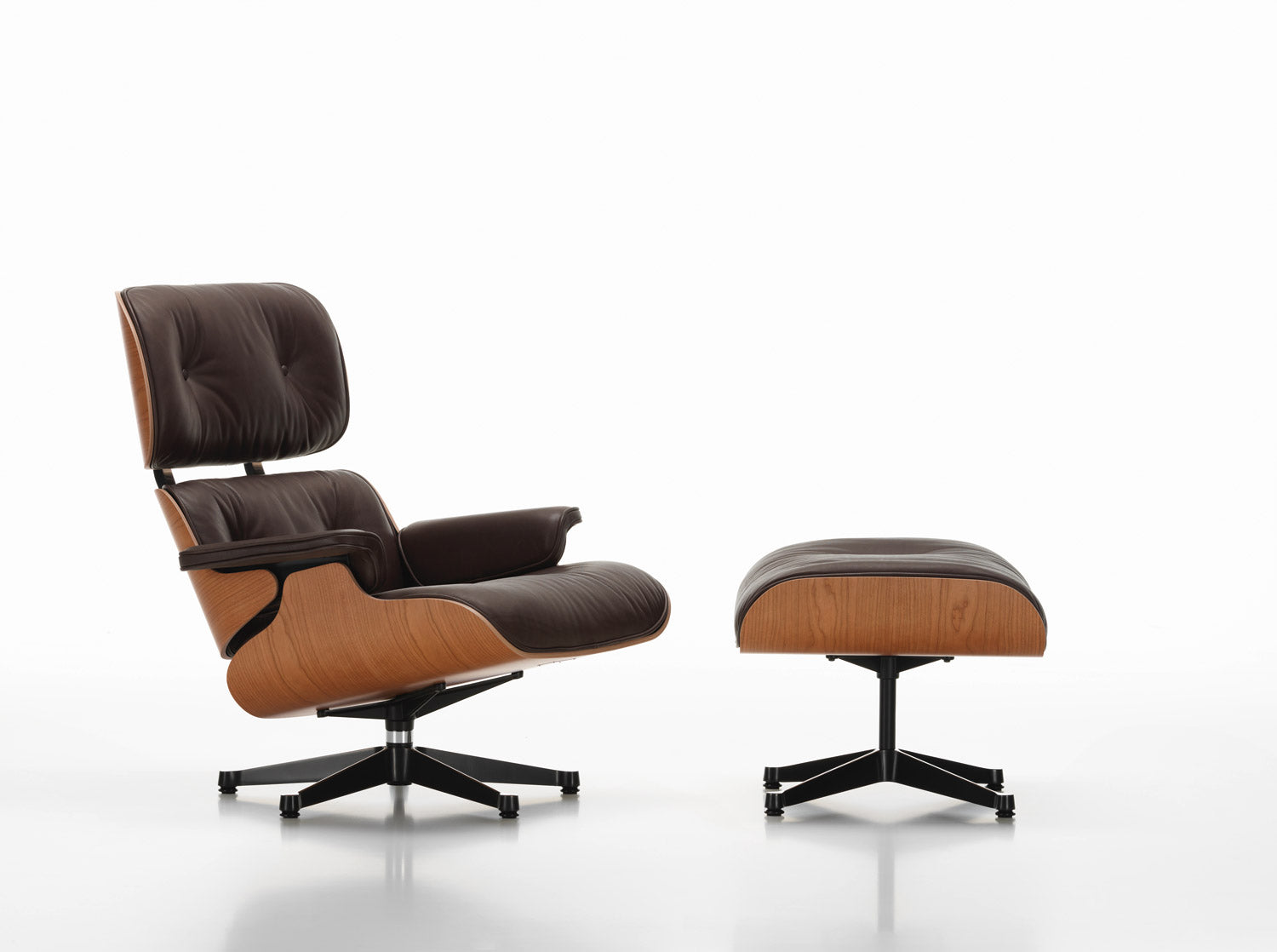 Eames Lounge Chair   American Cherry ...