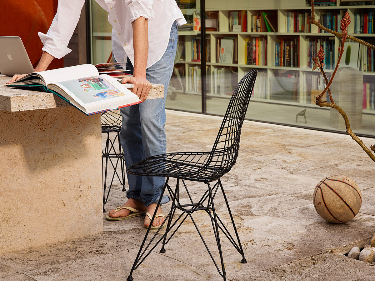 Eames wire chair dimensions - Eames Dkr Wire Chair