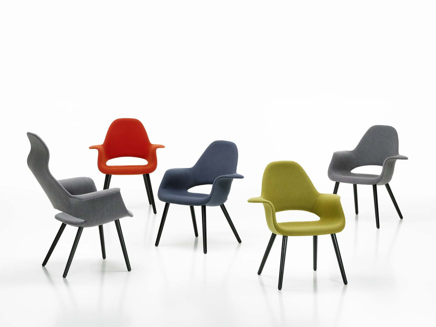 Vitra Chalres Eames : Organic conference chair couch potato company