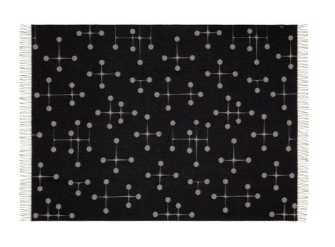 Eames Wool Blanket, part of the Vitra Black Collection