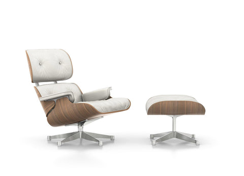 Eames Lounge Chair White Version