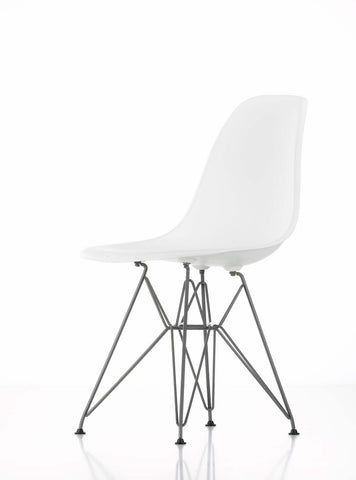 Eames DSR Chair, white shell