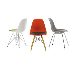 Eames DSW Chair Seat Upholstered